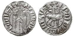 1 Tram Armenisches Königreich von Kilikien (1080-1375) Silber Hethum I (?-1271)