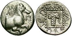 1 Triobol Ancient Greece (1100BC-330) Silver