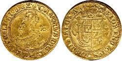 1 Unite Kingdom of England (927-1649,1660-1707) Gold Charles I (1600-1649)