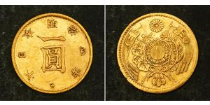 1 Yen Empire of Japan (1868-1947) / Japan Gold Meiji the Great (1852 - 1912)