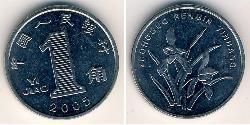 1 Yuan Volksrepublik China Kupfer/Nickel