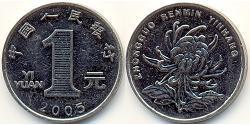 1 Yuan Volksrepublik China