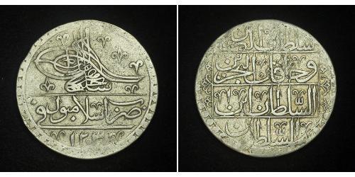 1 Yuzluk / 100 Para 奥斯曼帝国 (1299 - 1923) 銀 Selim III