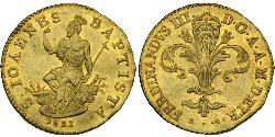 1 Zecchino Italian city-states Gold Ferdinand I of the Two Sicilies (1751 - 1825)