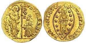 1 Zecchino / 1 Ducat Italien Gold