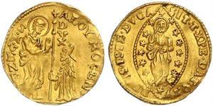 1 Zecchino / 1 Ducat Italy Gold