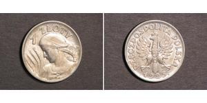 1 Zloty Seconda Repubblica Polacca (1918 - 1939) Argento