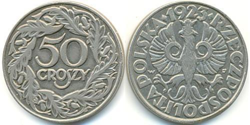1 Zloty Second Polish Republic (1918 - 1939) Nickel