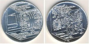 200 Крона Чехия Серебро