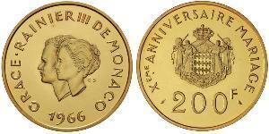 200 Франк Монако Золото