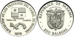 200 Balboa 巴拿马 Platinum