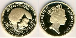 200 Dollar Australia (1939 - ) Gold