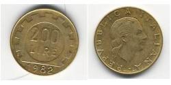 200 Lira Italien Bronze/Aluminium