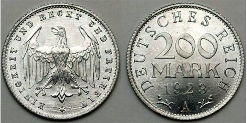 200 Mark 魏瑪共和國 (1919 - 1933) 铝