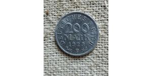 200 Mark República de Weimar (1918-1933) Aluminio