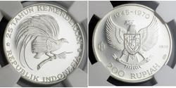 200 Rupiah Indonesia Silver