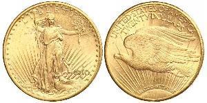 20 Долар США (1776 - ) Золото