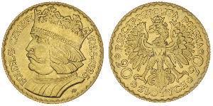 20 Злотый Польская Республика (1918 - 1939) Золото