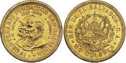 20 Колон Сальвадор Золото