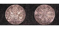 20 Крейцер Федеральные земли Германии Серебро
