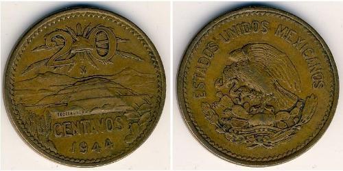 20 Сентаво Соединённые Штаты Мексики (1867 - )