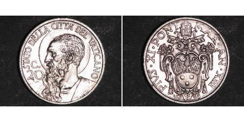 20 Сентесимо Ватикан (1926-)