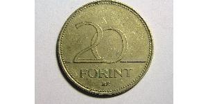 20 Форінт Угорщина (1989 - ) Латунь