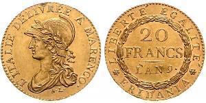 20 Франк Італія