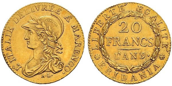 20 Франк Италия
