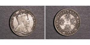 20 Цент Гонконг Серебро Эдуард VII (1841-1910)