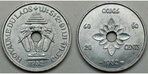 20 Цент Лаос