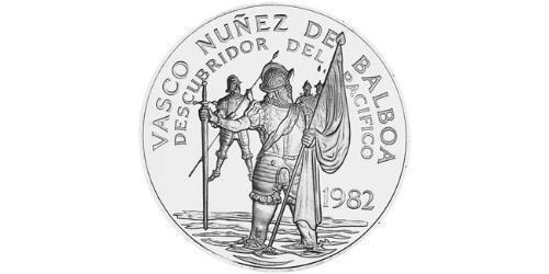 20 Balboa Panamá Argento