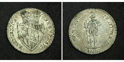 20 Batz / 1/2 Thaler Switzerland Silver