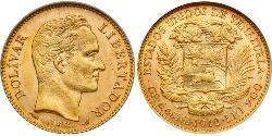 20 Bolivar Venezuela Gold