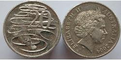 20 Cent Australia (1939 - ) Copper/Nickel Elizabeth II (1926-)