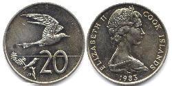 20 Cent Cook Islands Copper/Nickel