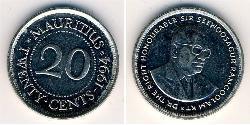 20 Cent Mauritius Copper/Nickel