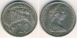 20 Cent New Zealand Copper/Nickel