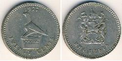 20 Cent Rhodesia (1965 - 1979) Copper/Nickel