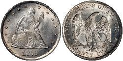 20 Cent USA (1776 - ) Copper/Silver