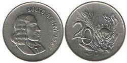 20 Cent Südafrika Nickel