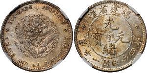 20 Cent República Popular China Plata