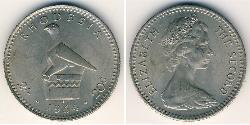 20 Cent / 2 Shilling Rhodesia (1965 - 1979) Copper/Nickel