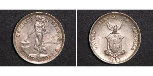 20 Centavo 菲律宾 銀