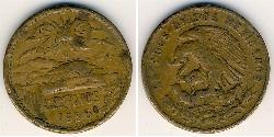 20 Centavo United Mexican States (1867 - ) Bronze