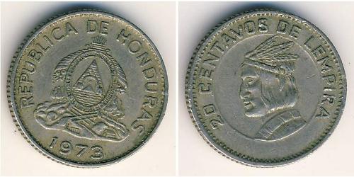 20 Centavo Honduras Kupfer/Nickel