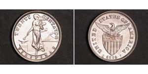 20 Centavo Filipinas Plata