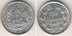 20 Centavo Nicaragua Plata