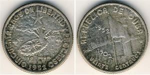 20 Centavo Kuba Silber