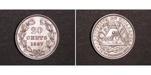 20 Centavo Nicaragua Silver